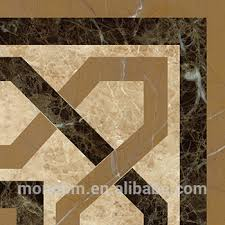 Global Glaze New Products Marble Flooring Border Design For Hall