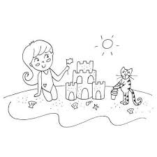 Sand Castle Clipart Draw
