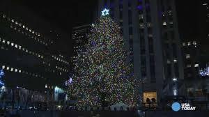 Nbc Christmas Tree Lighting 2014 Mariah Carey by Rockefeller Center Christmas Tree Lights Up New York