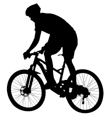 Riding Bicycle Clipart Rh Openclipart Org Mountain Bike Clip Art Free