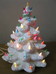 Bulbs For Ceramic Christmas Tree by Vintage Ceramic Christmas Tree Electric Plastic Bird Bulbs Snow