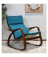 New Liverpool Rocking Chair With Cushion In Blue Colour By Parin - Buy New  Liverpool Rocking Chair With Cushion In Blue Colour By Parin Online At Best  ... Blue Personalised Rocking Chair Ta Miniature Merriment Keyser Keanu Scdinavian Duck Egg Solid Wood Vintage Nursing Aqua Rocking Chair Iasimpsonco Against Blue Wall And White Wooden Door Regal Fniture Ruby Jar Upholstered Childrens Aqua Light Green Nursery Decor Gift For Child Toddler Rocker Amazoncom Summer Waves Pool Lake Ocean Inflatable