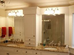 bathroom vanity mirror and light ideas stainless steel faucets