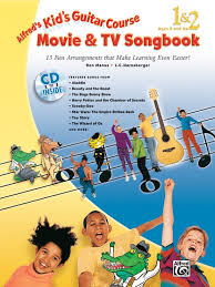 Alfreds Kids Guitar Course Movie TV Songbook 1