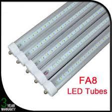 10pcs 8ft fa8 36w 6500k single pin fluorescent t8 led light