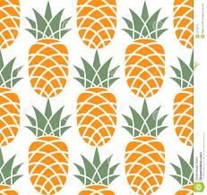 Pineapple Pattern stock vector Illustration of food
