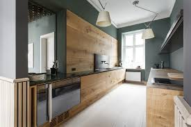 showroom cuisine wooden showroom kitchen for dinesen by nordic