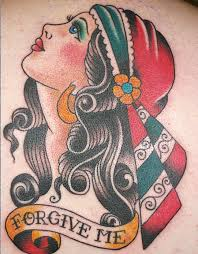 Tattoo Traditional Mexican Pinup