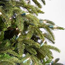Fraser Fir Christmas Trees Artificial by Recommended Number Of Ornaments