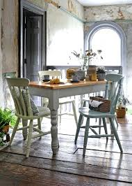 From The Company Free Delivery Returns Country Style Kitchen Table Painted Grey With Farmhouse Dining Chairs