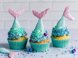 meerjungfrauen cupcakes einfache schritt für schritt