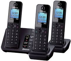 Panasonic KX-TGH263 Trio Link2Mobile Bluetooth Cordless: Amazon.co ... Panasonic Cordless Phone Plus 2 Handsets Kxtg8033 Officeworks Telephone Magic Inc Opening Hours 6143 Main St Niagara Falls On Kxtg2513et Dect Trio Digital Amazonco Voip Phones Polycom Desktop Conference Kxtg9542b Link2cell Bluetooth Enabled 2line With How To Leave And Retrieve Msages On Your Or Kxtgp500 Voip Ringcentral Setup Voipdistri Shop Sip Kxut670 Amazoncom Kxtpa50 Handset 6824 Quad 3line Pbx Buy Ligo Systems