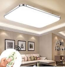 72w dimmbar mit fb led deckenleuchten modern deckenle flur schlafzimmer wohnzimmer le energiespar licht moderner minimalistischer