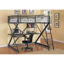 White Low Loft Bed With Desk by Loft Beds Stupendous Low Loft Bed Full Inspirations Bedroom
