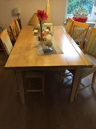esszimmer sitzgruppe mit 3 tischen und 6 stühlen möbel kraft