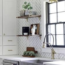 Subway Tiles Kitchen Backsplash Ideas 20 Unique Kitchen Backsplashes That Aren T Subway Tile