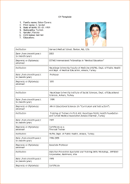 Resume Example For Job Application In Malaysia New Cv