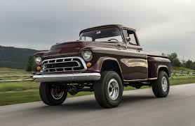 100 Chey Trucks Legacy Classic Returns With 1950s Chevy NAPCO 4x4