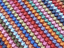 Crochet Knot Stitch Pattern Creatys for