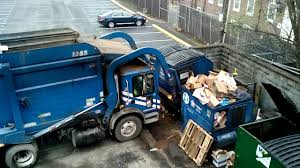 Lots Of Garbage Trucks - YouTube