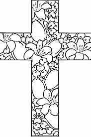 Printable 29 Cross Coloring Pages 680