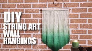 DIY String Art Wall Hanging