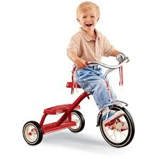 radio flyer classic red dual deck tricycle trikes bikes