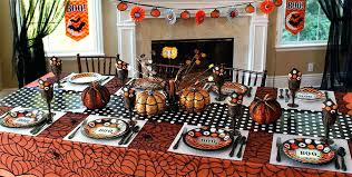 Decoration Ideas For Setting A Haunted Dining Table Halloween Room Decorations