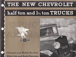 100 1932 Chevy Truck Chevrolet Dealer Album Original Chassis And Models