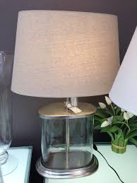 Fillable Glass Table Lamp Uk by Sea Point Fillable Glass Vessel Table Lamp U2013 Allissias Attic