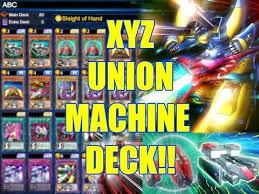 xyz cannon deck yugioh duel links yu gi oh duel links xyz union deck