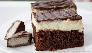 schokoladen kokos kuchen baunty kuchen speisereise