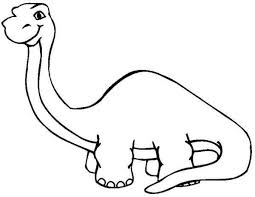 Long Neck Dinosaur Coloring Page More Images Of Cute Pages Parasaurolophus Picture To