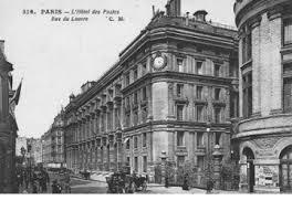 bureau de poste rue du louvre dominique perrault le cachet de la poste faisant foi d architectures
