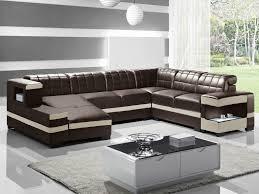 canapé cuir d angle salon salon cuir inspiration enzo canapé d angle cuir design