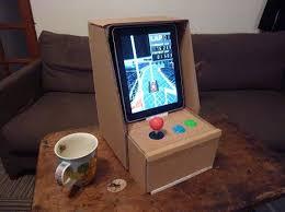 IPad Cardboard Arcade Console