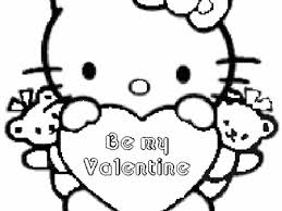 Hello Valentines Day Coloring Pages 26 Printable