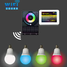 mi light rgb color changing wifi led light bulb e14 l socket