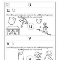 Worksheets For Letter U Kindergarten makeupuatechnicsz