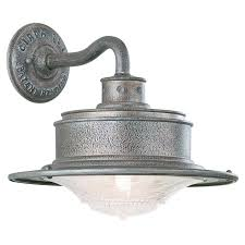galvanized wall sconce view the troy lighting south 1 light