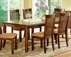 Set The Mood For Formal Or Casual Dining With Montreal 7 Piece Slatted Back Chairs This Boasts A Sturdy Rectangular Table
