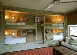 innovative bunk bed with stairs in kids traditional with built in