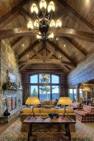 Simple Log Home Great Rooms Ideas Photo by 455 Best Lodge Style Great Rooms Images On Log Cabins