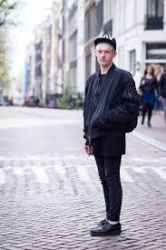 Black Boy Look Street Style Menswear Amsterdam