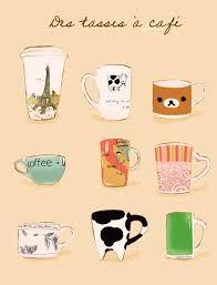 500x657 Coffee Cute Drawing