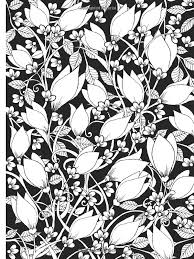 Amazon Creative Haven Midnight Garden Coloring Book Heart Flower Designs On