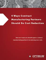 4 Ways CMs Should Cost Reduce