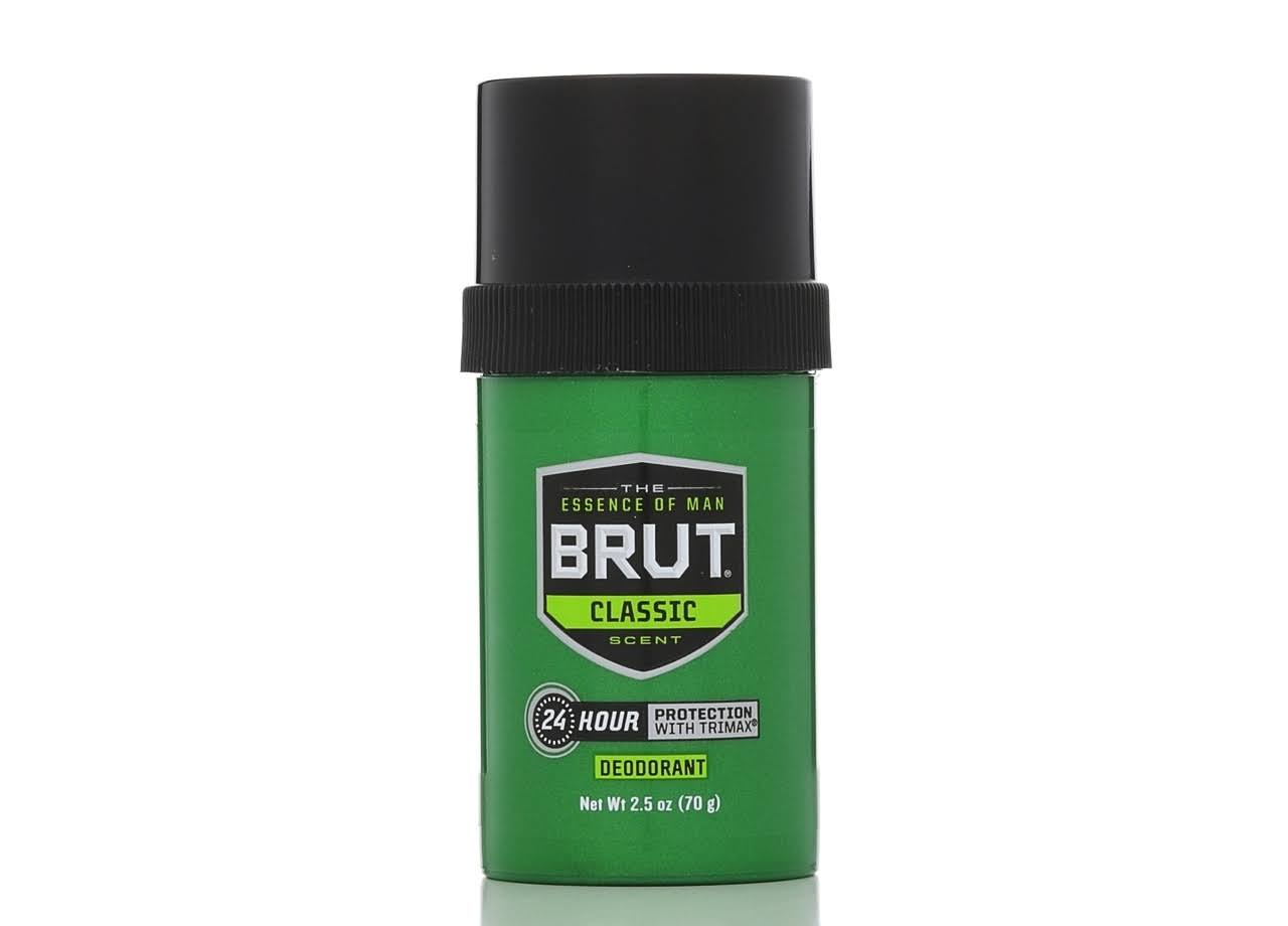 Brut 24 Hour Protection Deodorant - Classic Scent, 2.5oz