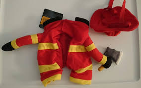 Repeat Crafter Me Fireman, Fire Dog, Fire Truck Halloween Costume ...