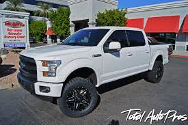 """2015 Ford F150 4x4 Crew Cab White 